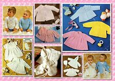 100+ Delightful Vintage BABY KNITTING PATTERNS ~ Gorgeous Selection