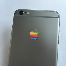 100 x Apple Retro Logo Decal Sticker for iPhone 4/4S/5/5S/6/6S/7 Plus