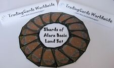Shards of Alara Complete Basic Land Set // 20|20 // NM-EX // engl.