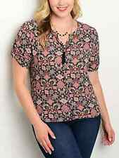 "NEW Bluebell blouse plus size US 2XL UK 16/18 (44"" chest) geometric blouse"