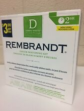 Rembrandt Deeply White 2-Hour Whitening Kit  NEW