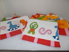 IKEA CURTAIN BARNSLIG DJUR KIDS 4 PANELS MONKEYS GIRAFFES LIONS ANIMALS