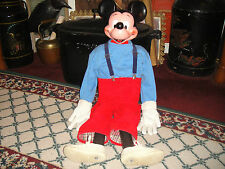 Rare Vintage Unbreakable Mickey Mouse Bank-Converted Into Full Body-One Of Kind