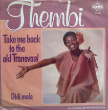 "7"" 1977 NL-PRESS VG+ ! THEMBI : Take Me Back To The Old Transvaal"