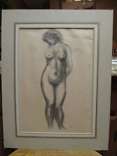 Aristide Maillol (1861-1944) Nude Woman Print Etching