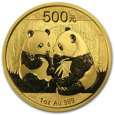 2009 1 oz Gold Chinese Panda Coin - Sealed in Plastic - SKU #48434