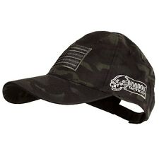 Voodoo Tactical Hunting Cap with US Flag Fully Adjustable Black Multicam 20-9353