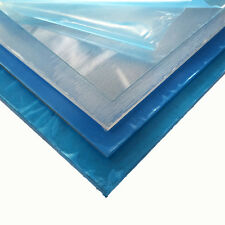 """.040"""" x 24"""" x 48"""" Clear PETG Plastic Sheet Co-Polyester"""