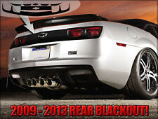 2010 2011 2012 2013 Camaro Rear Blackout Decal Graphics Kit RS SS ZL1