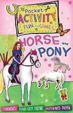 Horse and Pony Pocket Activity Fun and Games: Games and Puzzles, Fold-out Scenes