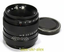 Russian Vega-12B 2,8/90 mm lens Kiev-6-60 Pentacon six mount.Excellent.№812218