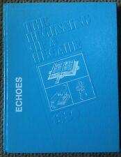 1980 BLUE MOUNTAIN ACADEMY HIGH SCHOOL YEARBOOK, THE ECHOES, HAMBURG, PA