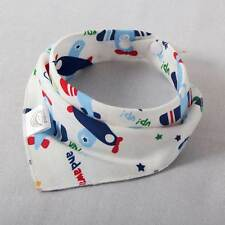 Baby Boys Girls Bib Toddler Saliva Towel Bandana Triangle Head Scarf Cute