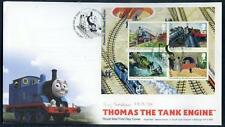 Great Britain 2011 Thomas the Tank Engine sheet on f.d.c. (2014/11/30/#20)