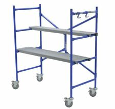 Werner 4 ft Multi-Use Scaffolding Rolling Capacity Scaffold Platform Drywall NEW