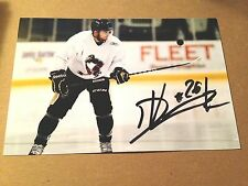 Dominik Uher SIGNED 4x6 photo WILKES BARRE SCRANTON PENGUINS WBS PITTSBURGH