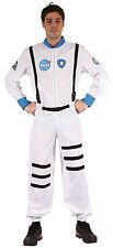 MENS ASTRONAUT COSTUME FANCY DRESS NASA HALLOWEEN SPACEMAN OUTFIT NEW