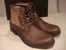 JOE'S JEANS MEN'S TWIST BROWN JF516C39 SIZE 8.5 SHOES BOOTS - BRAND NEW - NWT