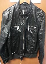 New Men's Marc Ecko Cut & Sew Jacket Black Size Med