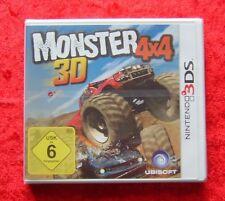 Monster 4x4 3D, 4 * 4, Nintendo 3DS Spiel, Neu, deutsche Version