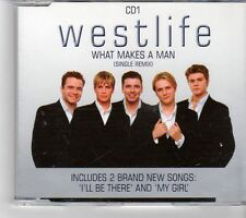(FK251) Westlife, What Makes A Man  - 2000 CD