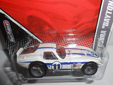 Hot Wheels 2011 Garage Series Shelby Cobra Daytona Coupe (White) w/RRs
