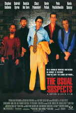 THE USUAL SUSPECTS Movie POSTER 27x40 Kevin Spacey Gabriel Byrne