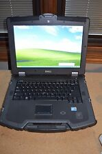 Military Dell Latitude E6400 XFR Intel Core2 Duo 2.5GHz 4GB 128GB SSD Windows XP