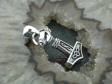 Ketten Anhänger Celtic kleiner THORS HAMMER Keltisch Gothic Celtic Silber 925