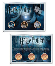 Harry Potter Great Britian 3-Coin Set - Deathly Hallows