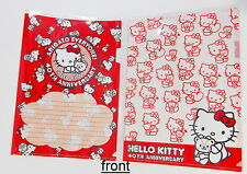 Sanrio Hello Kitty 40th Anniversary Plastic Folder A4 Size #3, 2pcs , #6