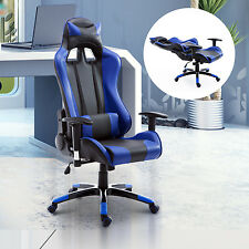 HOMCOM Executive Racing Style High Back Reclining Chair Gaming Office Computer