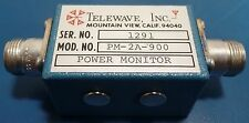 Telewave PM-2A-900 Dual Direction RF Power Monitor w/ N (f) Connectors, 900 MHz