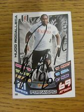 2012/2013 Autograph: Fulham - Rodallega, Hugo [Hand Signed 'Topps Match Attax' T