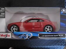 Maisto 2010 Chevrolet Camaro RS SS Special Edition Diecast Car 1:24 Scale - New