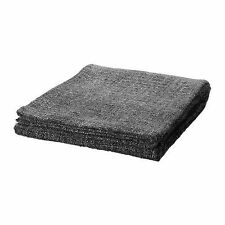 IKEA GURLI Throw Blanket 47x71 Grey Black Fleck washable soft NEW FREE SHIP