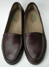 SAS Shoes Loafers Tripad Comfort Brown Burgundy Slip On Womens Size 6W