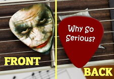 Joker Batman The Dark Knight Heath Ledger Set of 3 premium Promo Guitar Pick Pic
