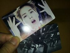 EXO K M plastic PHOTO CARD #10-1,Total 24 Sheet -monster lucky lotto louder