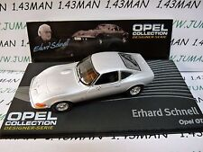 OPE121 voiture 1/43 IXO designer serie OPEL collection : GT E.Schnell