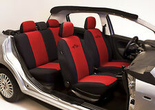 SET OF RED HIGH QUALITY SEAT COVERS PROTECTORS FOR HONDA CIVIC VI