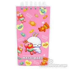 Mashimaro Spiral Mini Notebook Note pad / Memo Pad: Pink