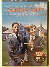 NEW/SEALED - Carbon Copy (DVD, 1981) Rare OOP, Denzel Washington, George Segal