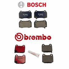 Front / Rear Bosch QuietCast / Brembo Disc Brake Pad Kit for: Nissan 350Z 03-05
