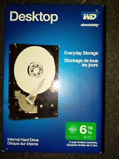 WD Desktop Everyday 6TB Internal Serial ATA Hard Drive HD WDBH2D0060HNC New
