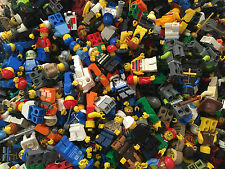 LEGO - Random City Town Minifigure Lot Complete minifigs Lot of 25