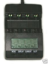 BM200 Battery Charger Analyzer Tester NiMH NiCd AA AAA C and D Cells 12V BM-200