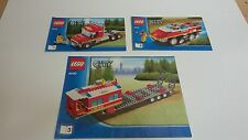 LEGO CITY !! INSTRUCTIONS ONLY !! FOR 4430 FOREST FIRE COMAND CENTER