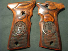 Beretta 92F 92FS COMPACT ONLY USAF US AIR FORCE Rosewood Checkered Pistol Grips