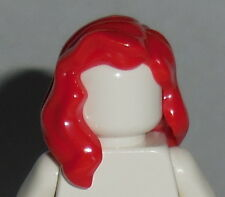 HAIR Lego F014 Female Red Mid Length Part over Right Shoulder NEW Unisex Boy